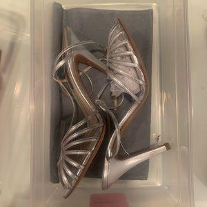 Ralph Lauren strappy heels